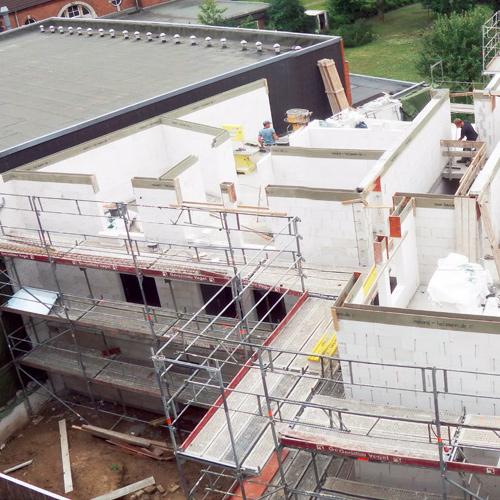 Neubau eines Mehrfamilienhauses innerstädtische Nachverdichtung