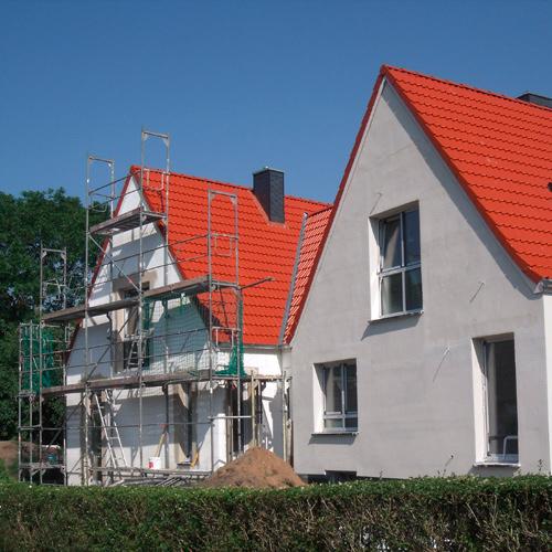 Umbau und Anbau an ein Einfamilienhaus