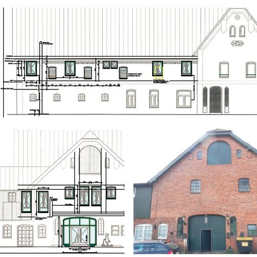 Umnutzung / Umbau eines Wohnhauses